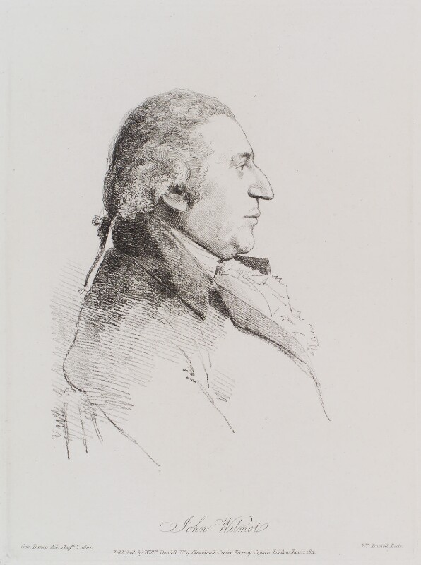 John Eardley Wilmot, by William Daniell, after  George Dance, published 1 June 1811 (3 August 1802) - NPG D12162 - © National Portrait Gallery, London