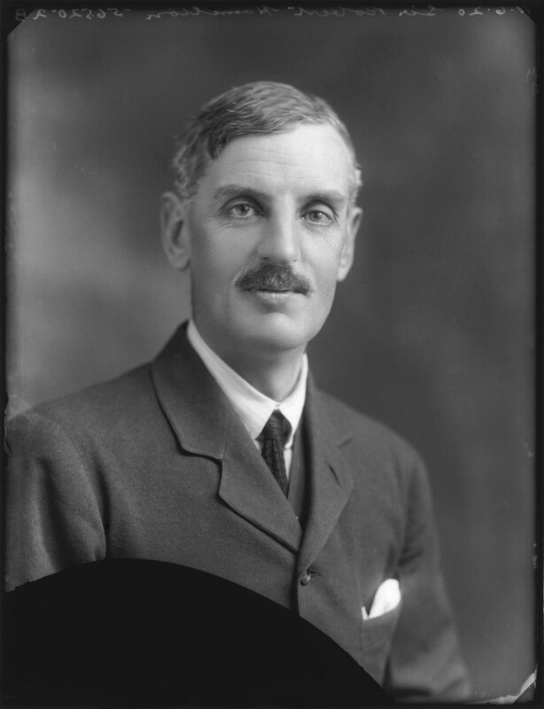 Sir Robert Hamilton, by Bassano Ltd, 11 June 1920 - NPG x78659 - © National Portrait Gallery, London