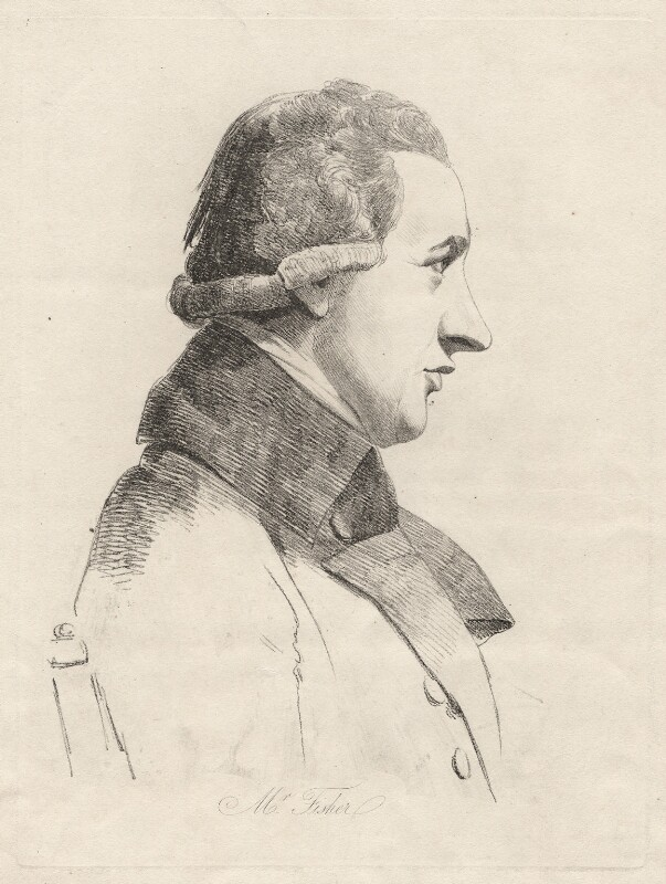 John Fisher, by William Daniell, after  George Dance, (28 November 1793) - NPG D12194 - © National Portrait Gallery, London