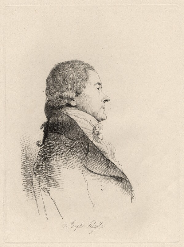 Joseph Jekyll, by William Daniell, after  George Dance, (1796) - NPG D12205 - © National Portrait Gallery, London