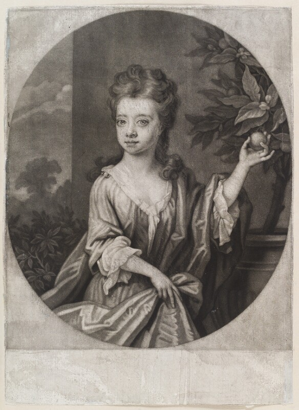 Lady Mary Douglas, by John Smith, 1707 - NPG D11631 - © National Portrait Gallery, London