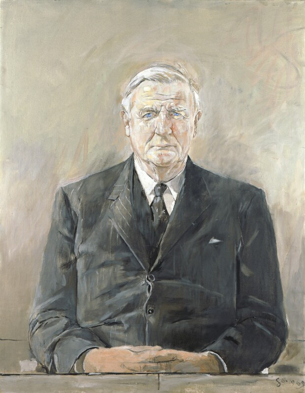 Cecil Harmsworth King, by Graham Sutherland, 1969 - NPG 6613 - © National Portrait Gallery, London