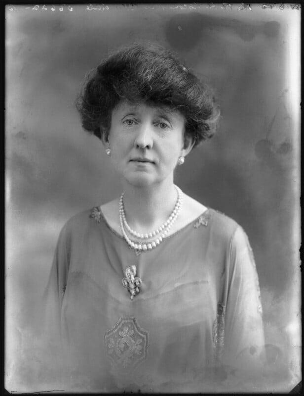 Alexandria Louis Maud (née Vane-Tempest-Stewart), Viscountess Allendale, by Bassano Ltd, 21 June 1920 - NPG x78765 - © National Portrait Gallery, London