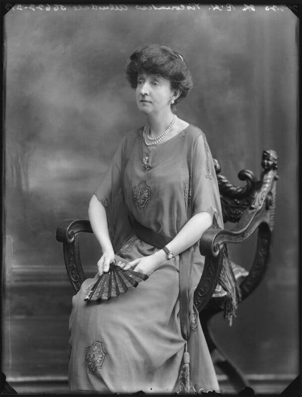 Alexandria Louis Maud (née Vane-Tempest-Stewart), Viscountess Allendale, by Bassano Ltd, 21 June 1920 - NPG x78766 - © National Portrait Gallery, London