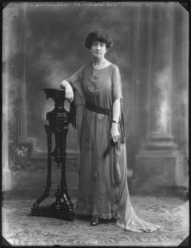 Alexandria Louis Maud (née Vane-Tempest-Stewart), Viscountess Allendale, by Bassano Ltd, 21 June 1920 - NPG x78767 - © National Portrait Gallery, London