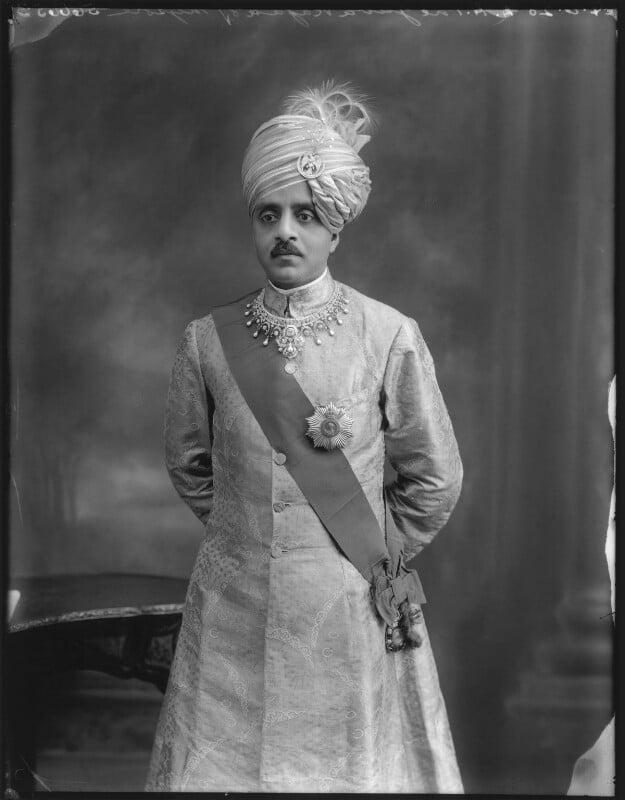 Sir Sri Kanthirava Narasimharaja Wadiyar Bahadur, Yuvaraja of Mysore, by Bassano Ltd, 24 June 1920 - NPG x78800 - © National Portrait Gallery, London