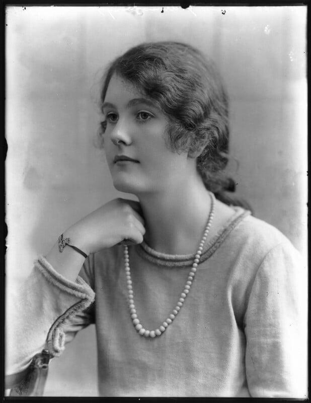 Gwendolen Jane (née Armstrong-Jones), Lady Buckley, by Bassano Ltd, 24 June 1920 - NPG x74882 - © National Portrait Gallery, London