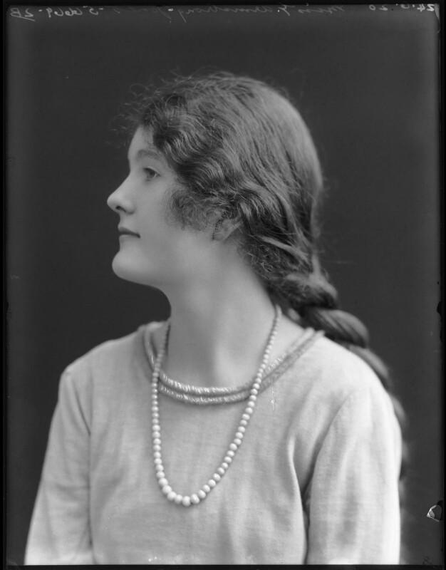 Gwendolen Jane (née Armstrong-Jones), Lady Buckley, by Bassano Ltd, 24 June 1920 - NPG x74883 - © National Portrait Gallery, London
