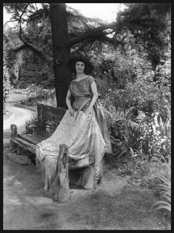 Anna Pavlova, by Bassano Ltd, 28 June 1920 - NPG x18147 - © National Portrait Gallery, London