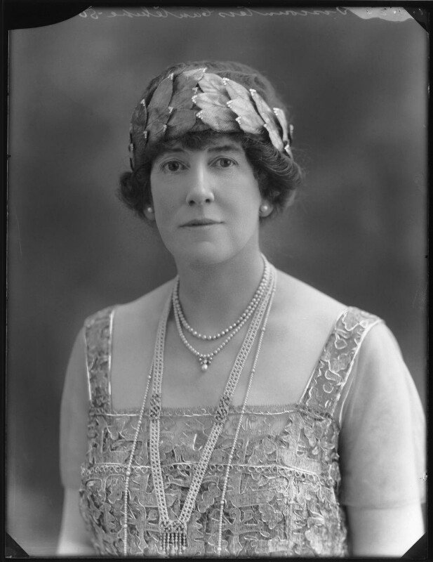 Dorothy (née Heseltine), Lady Jeffreys, by Bassano Ltd, 1 July 1920 - NPG x74950 - © National Portrait Gallery, London