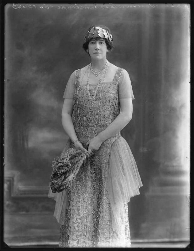 Dorothy (née Heseltine), Lady Jeffreys, by Bassano Ltd, 1 July 1920 - NPG x74953 - © National Portrait Gallery, London