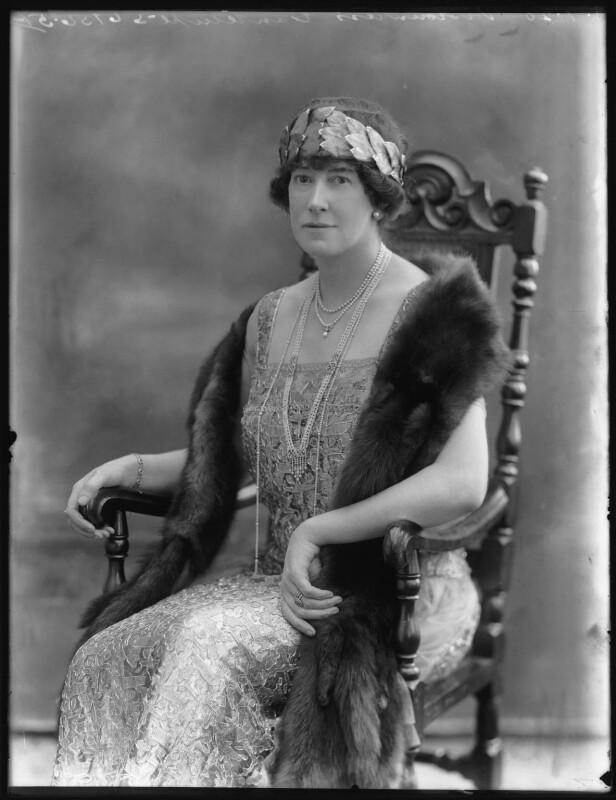 Dorothy (née Heseltine), Lady Jeffreys, by Bassano Ltd, 1 July 1920 - NPG x74954 - © National Portrait Gallery, London
