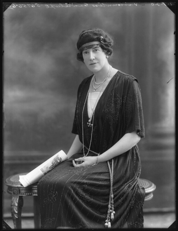 Dorothy (née Heseltine), Lady Jeffreys, by Bassano Ltd, 1 July 1920 - NPG x74955 - © National Portrait Gallery, London