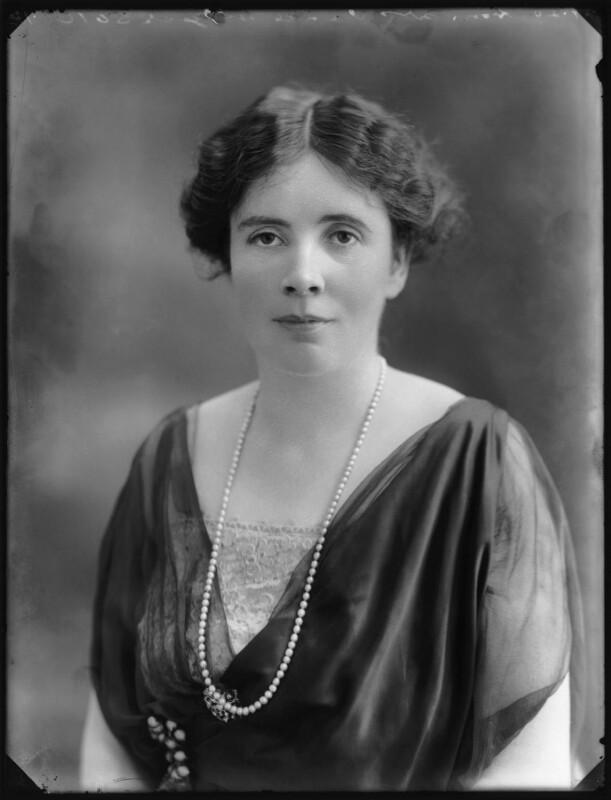 Lady Emily Georgiana Van de Weyer (née Craven), by Bassano Ltd, 2 July 1920 - NPG x74958 - © National Portrait Gallery, London