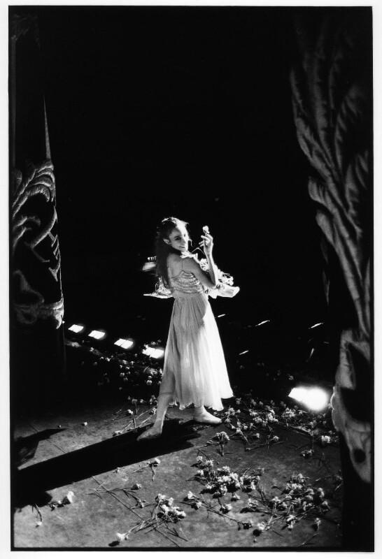 Viviana Durante, by David Secombe, 1994 - NPG x125350 - © David Secombe