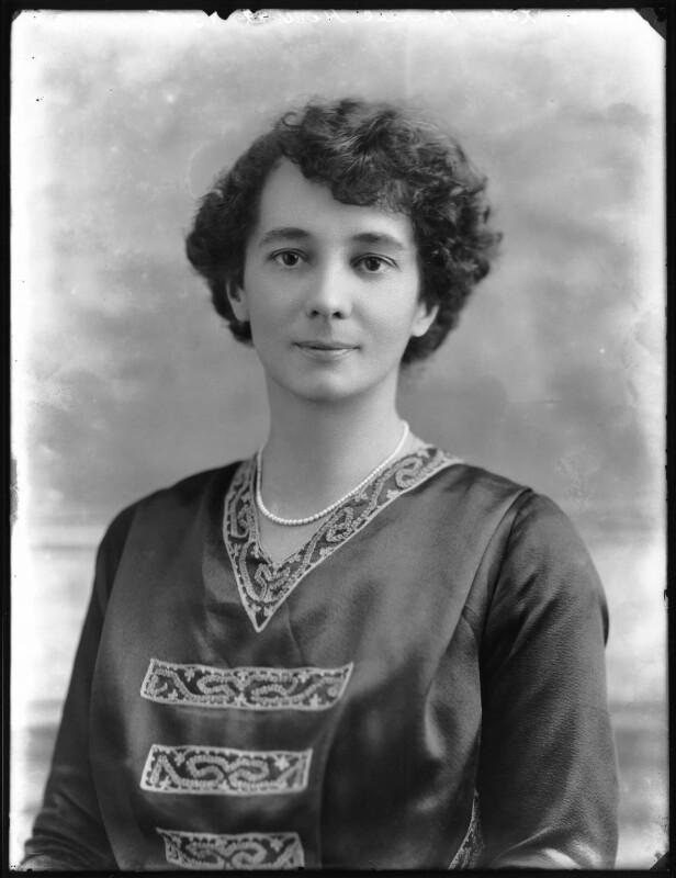 Lady Muriel Katherine Jex-Blake (née Herbert), by Bassano Ltd, 16 July 1920 - NPG x75047 - © National Portrait Gallery, London