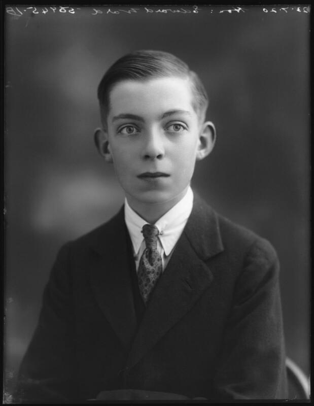 Edward Henry Harold Ward, 7th Viscount Bangor, by Bassano Ltd, 23 July 1920 - NPG x75076 - © National Portrait Gallery, London