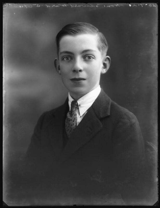Edward Henry Harold Ward, 7th Viscount Bangor, by Bassano Ltd, 23 July 1920 - NPG x75077 - © National Portrait Gallery, London