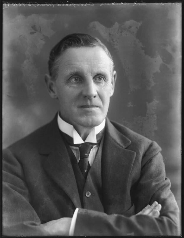 Sir Arthur Henry Crosfield, 1st Bt, by Bassano Ltd, 5 August 1920 - NPG x75115 - © National Portrait Gallery, London