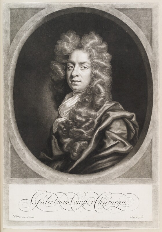 William Cowper (Cooper), by John Smith, after  John Closterman, 1698 - NPG D11579 - © National Portrait Gallery, London