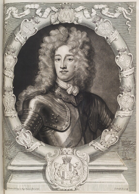 John Erskine, 22nd or 6th Earl of Mar, by John Smith, after  Sir Godfrey Kneller, Bt, 1703 - NPG D11580 - © National Portrait Gallery, London