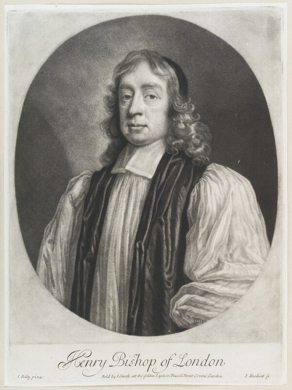 Henry Compton, by Isaac Beckett, published by  John Smith, after  John Riley, (circa 1680-1685) - NPG D11588 - © National Portrait Gallery, London