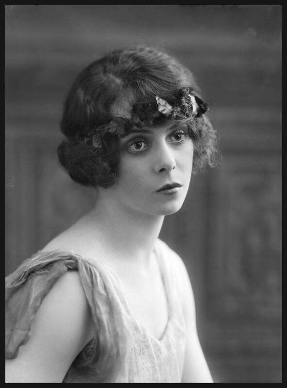 Ninette de Valois, by Bassano Ltd, 25 August 1920 - NPG x18944 - © National Portrait Gallery, London