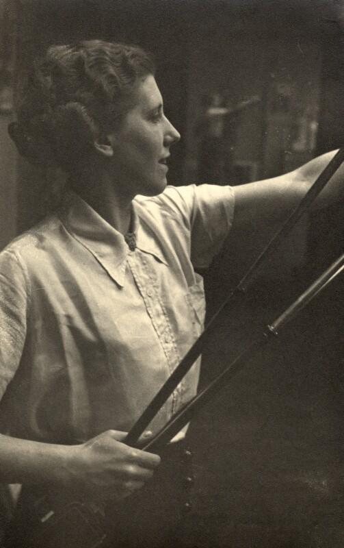 Barbara Ker-Seymer, by Humphrey Spender, 1930s - NPG x36076 - © National Portrait Gallery, London