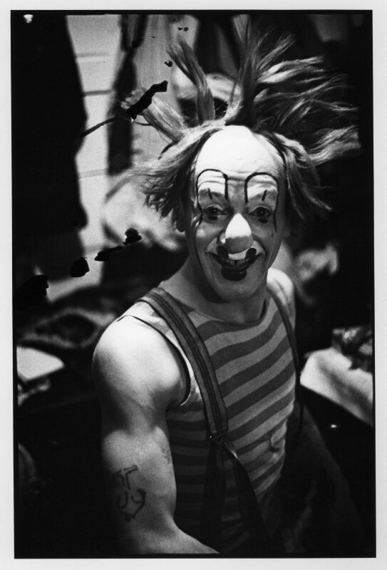 Nicolai Poliakoff (Poliakovs) ('Coco the Clown'), by Humphrey Spender, 1935 - NPG x14703 - © National Portrait Gallery, London
