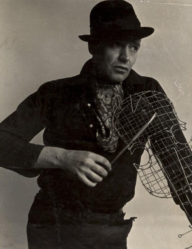 John Banting, by Humphrey Spender, 1930s - NPG x14265 - © National Portrait Gallery, London