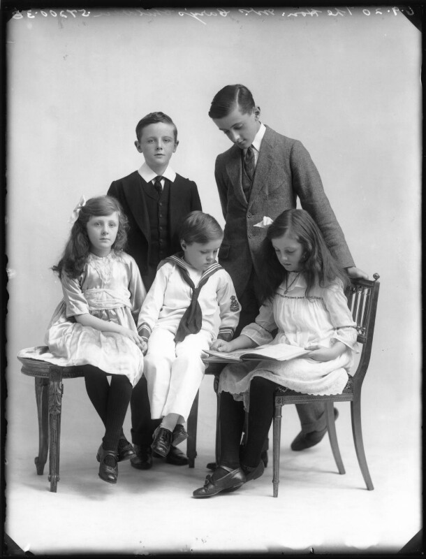 The Cary family, by Bassano Ltd, 6 September 1920 - NPG x75194 - © National Portrait Gallery, London