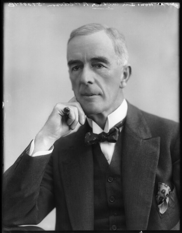 Sir Arthur Frederick Peterson, by Bassano Ltd, 23 September 1920 - NPG x120651 - © National Portrait Gallery, London