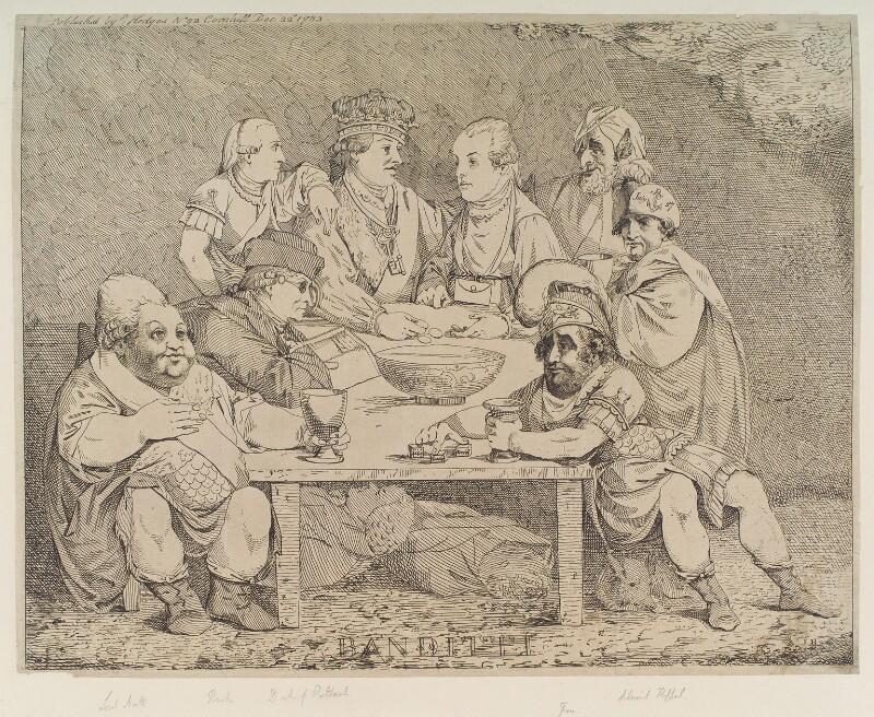 'Banditti', by John Boyne, published by  Edward Hedges, published 22 December 1783 - NPG D12343 - © National Portrait Gallery, London