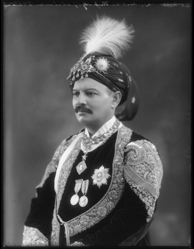 Sir Bhawani Singh Bahadur, Maharaja Rana of Jhalawar, by Bassano Ltd, 25 September 1920 - NPG x96789 - © National Portrait Gallery, London