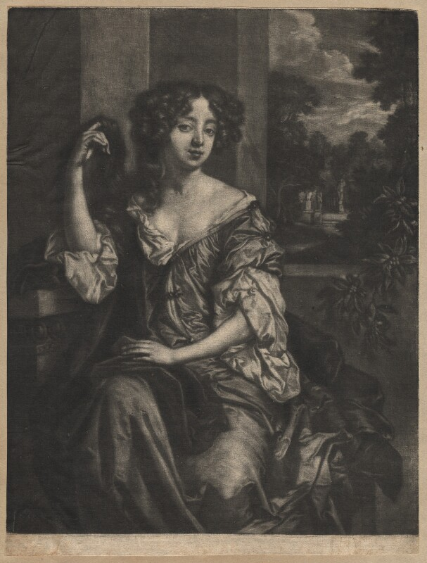 Louise de Kéroualle, Duchess of Portsmouth, by Paul van Somer, after  Sir Peter Lely, circa 1680 - NPG D13151 - © National Portrait Gallery, London
