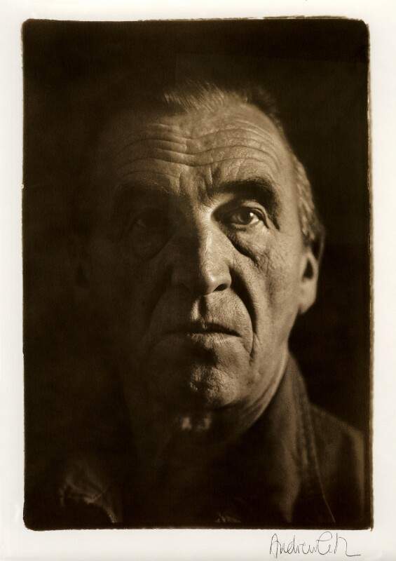 William Turnbull, by Andrew Catlin, 1986 - NPG x35980 - © Andrew Catlin / National Portrait Gallery, London