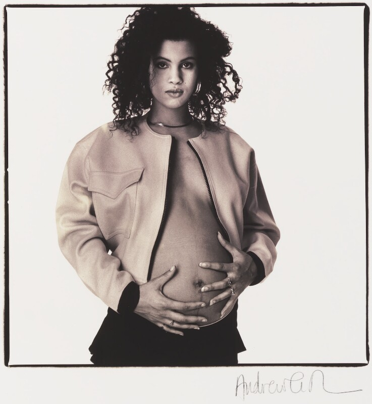 Neneh Cherry, by Andrew Catlin, December 1988 - NPG x35982 - © Andrew Catlin / National Portrait Gallery, London