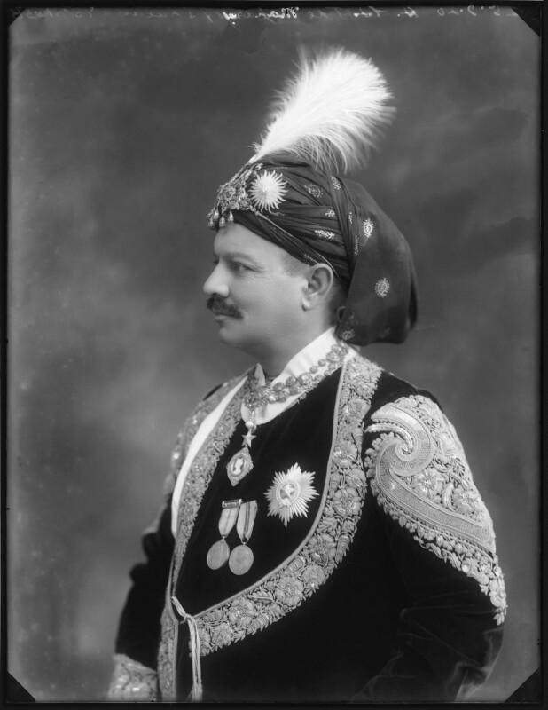 Sir Bhawani Singh Bahadur, Maharaja Rana of Jhalawar, by Bassano Ltd, 25 September 1920 - NPG x96762 - © National Portrait Gallery, London