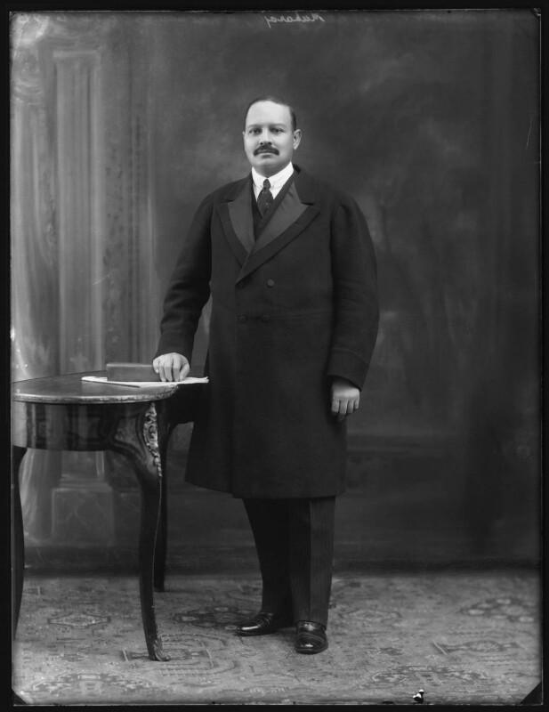 Sir Bhawani Singh Bahadur, Maharaja Rana of Jhalawar, by Bassano Ltd, 25 September 1920 - NPG x96763 - © National Portrait Gallery, London