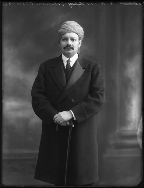 Sir Bhawani Singh Bahadur, Maharaja Rana of Jhalawar, by Bassano Ltd, 25 September 1920 - NPG x96767 - © National Portrait Gallery, London