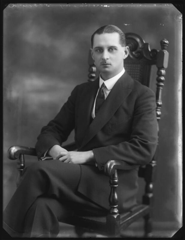 Prince George Imeretinsky, by Bassano Ltd, 18 November 1920 - NPG x120722 - © National Portrait Gallery, London