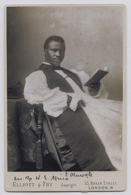 Isaac Oluwole, by Elliott & Fry, circa 1893 - NPG x125150 - © National Portrait Gallery, London