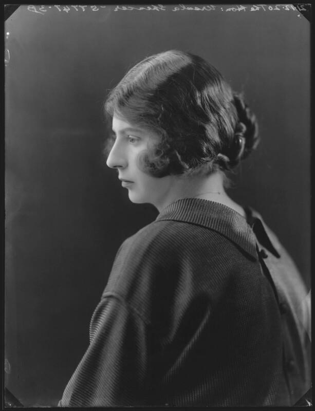 Ursula Tod (née Spencer Churchill), by Bassano Ltd, 21 December 1920 - NPG x37053 - © National Portrait Gallery, London
