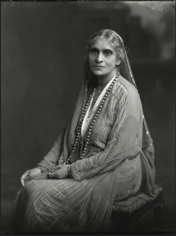 Cornelia Sorabji, by Lafayette, 20 June 1930 - NPG x70451 - © National Portrait Gallery, London
