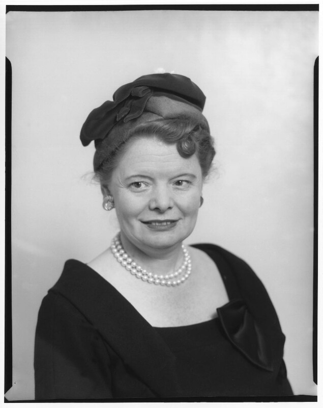 (Margaret) Patricia Hornsby-Smith, Baroness Hornsby-Smith, by Baron Studios, 8 February 1960 - NPG x125383 - © National Portrait Gallery, London