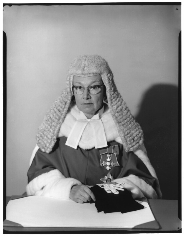 Dame Elizabeth Kathleen Lane, by Baron Studios, 10 November 1965 - NPG x125396 - © National Portrait Gallery, London