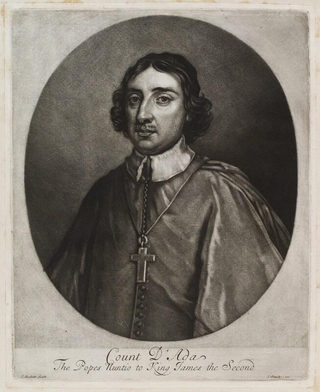 Ferdinando d'Adda, by Isaac Beckett, published by  John Smith, circa 1681-1688 - NPG D11952 - © National Portrait Gallery, London