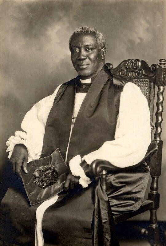 Thomas Charles John, by Unknown photographer, circa 1933 - NPG x125353 - © National Portrait Gallery, London