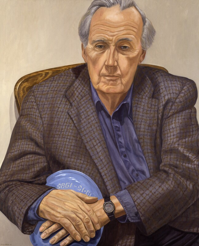 Sir Brian Edward Urquhart, by Philip Pearlstein, 2002 - NPG 6618 - © National Portrait Gallery, London