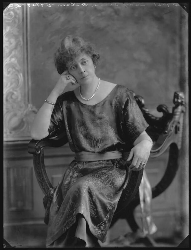 Lady Sarah Isabella Augusta Wilson (née Spencer-Churchill) (née Spencer Churchill), by Bassano Ltd, 4 January 1921 - NPG x36681 - © National Portrait Gallery, London